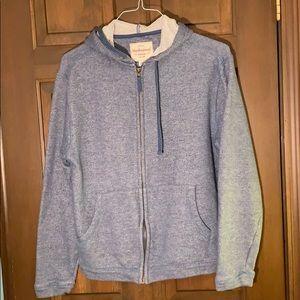 Men's blue/grey hoodie